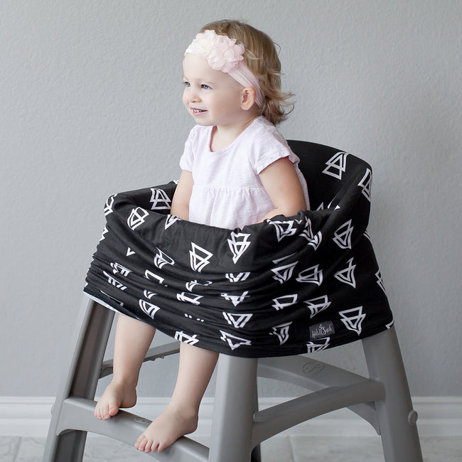Multi-use car seat canopy use as cart cover