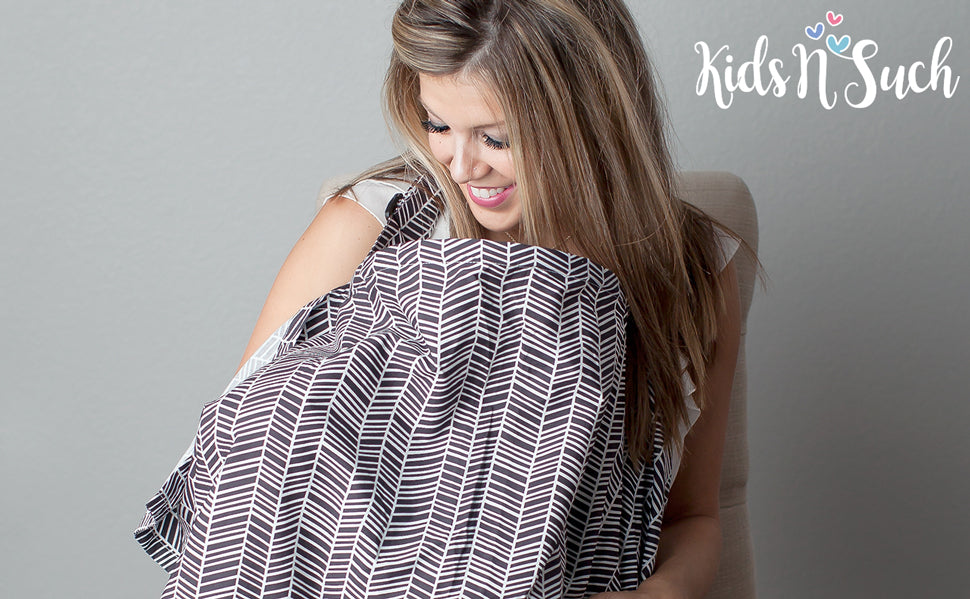 Nursing Cover- Herringbone