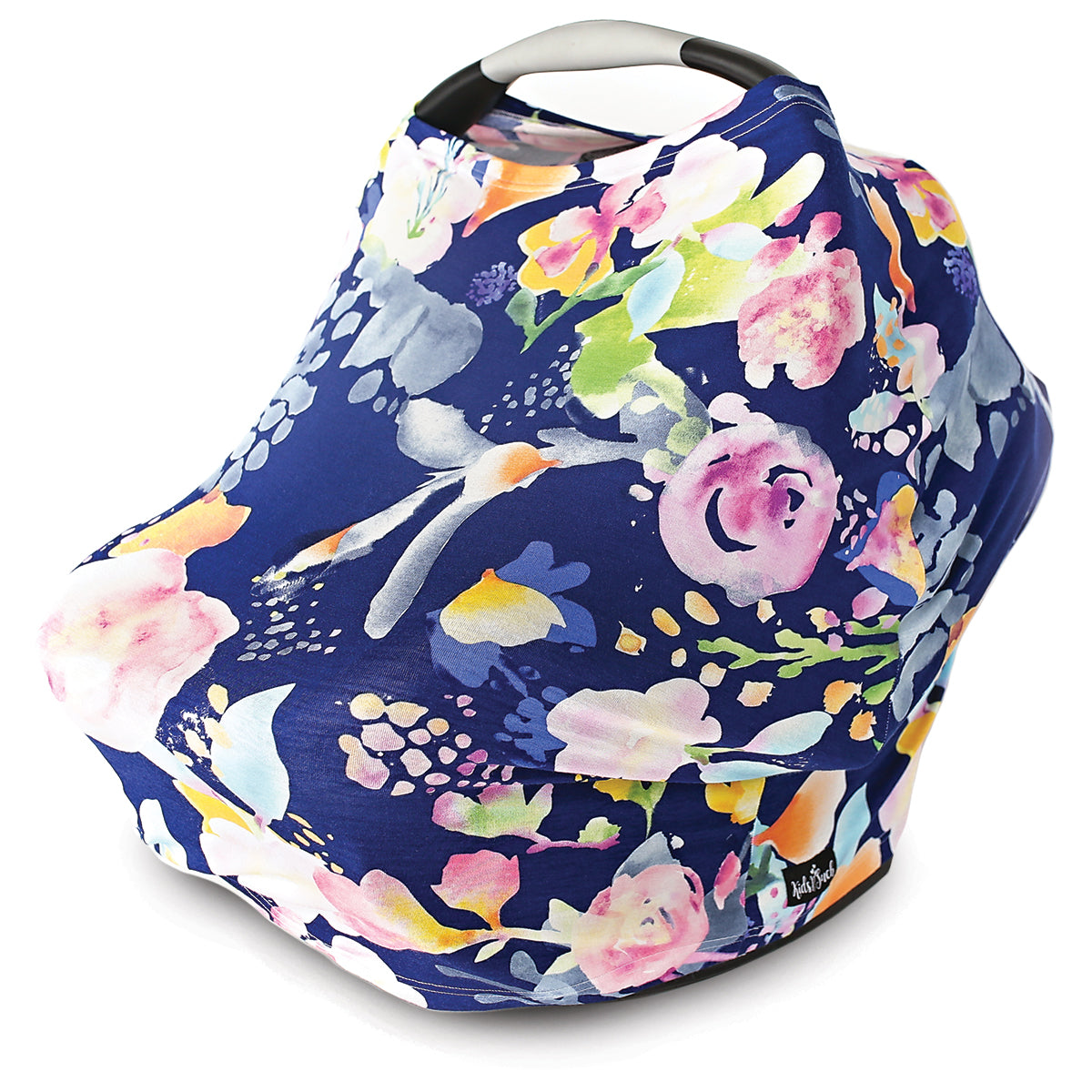 Stretchy Multi Use Car Seat Canopy Nursing Cover Shopping Cart In Pastel
