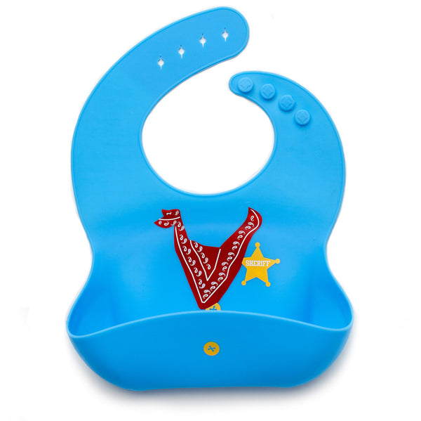 Baby Bibs For Boys 3 Pack 100 Food Grade Silicon