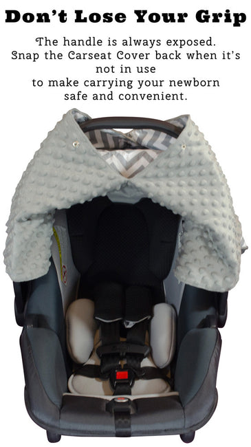 Carseat Cover in Gray Color