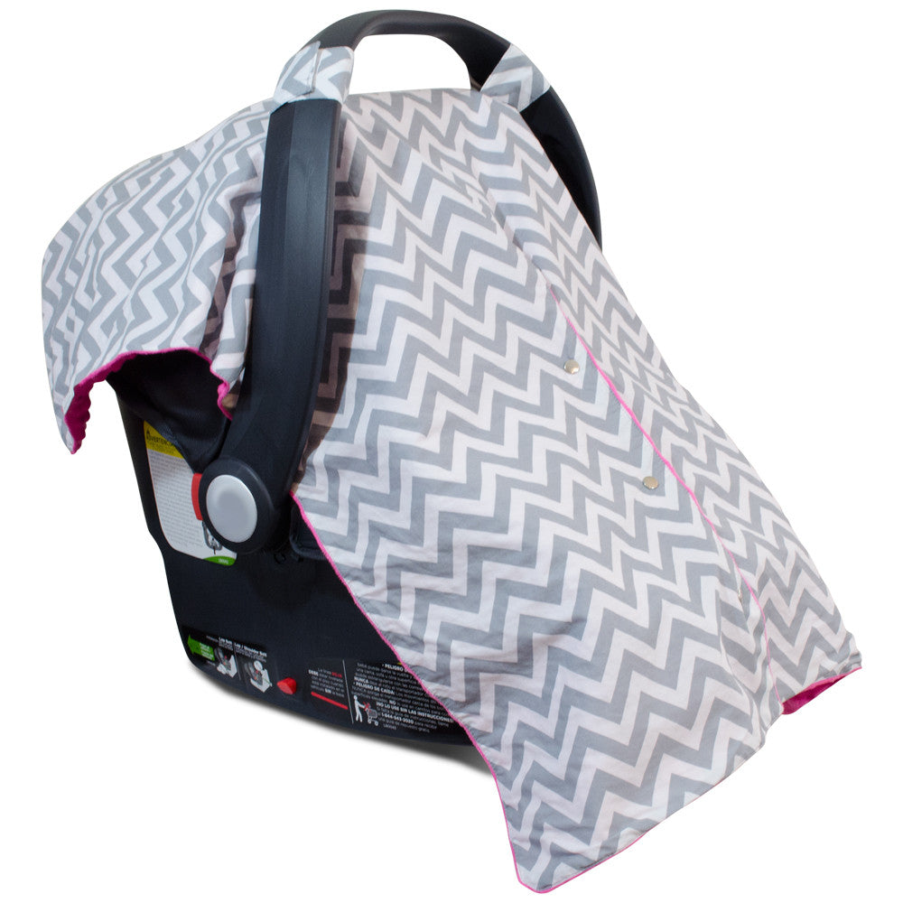Chevron Car Seat Canopy With Peekaboo Opening Free Shipping Kids N Such