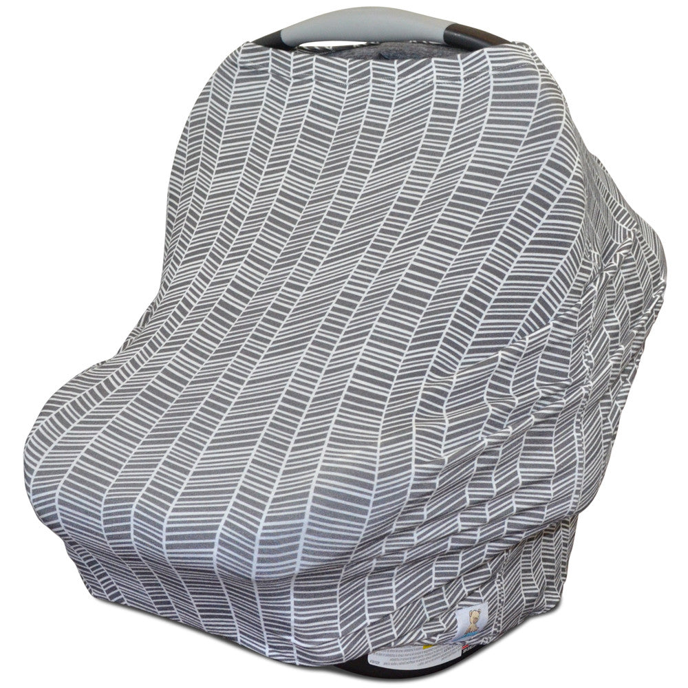 Combination Car Seat Canopy Nursing Cover Shopping Cart Cover