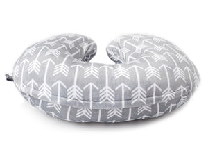 Minky Nursing Pillow Cover | Arrow Pattern Slipcover