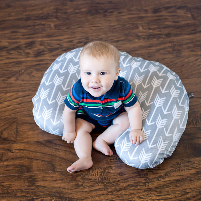 Nursing Pillow Cover in Arrow Patterns