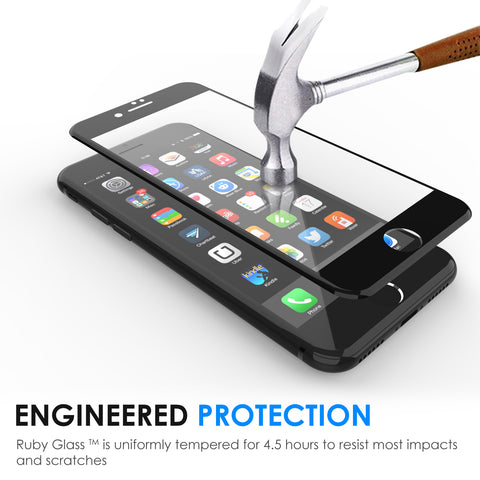 the best attitude 05186 3a1b7 Premium 3D Curved Edge to Edge Tempered Glass Screen Protector - iPhone 7