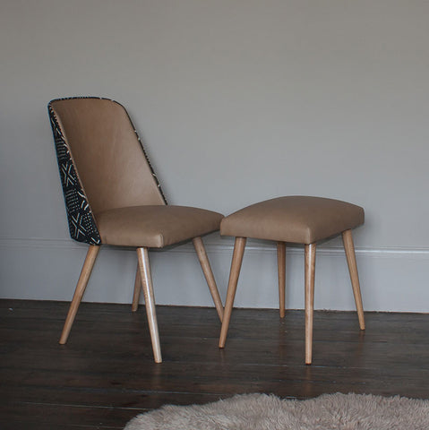 Mid-century dining chairs & stools