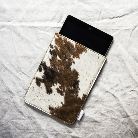cowhide iPad Air case