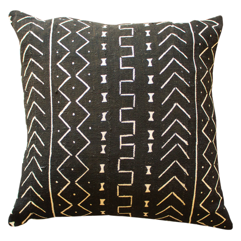 Graphic Mud Cloth Cushion