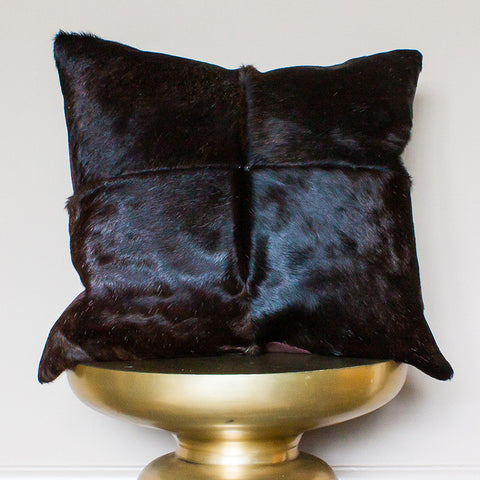 luxury cowhide cushion