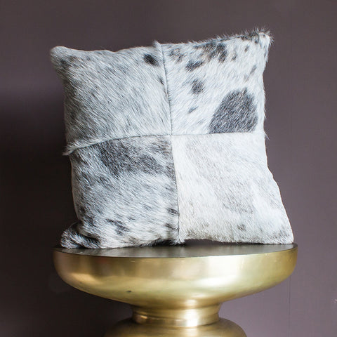 Cowhide cushion – Patch