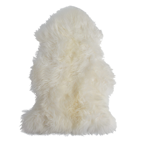 Silky White Sheepskin