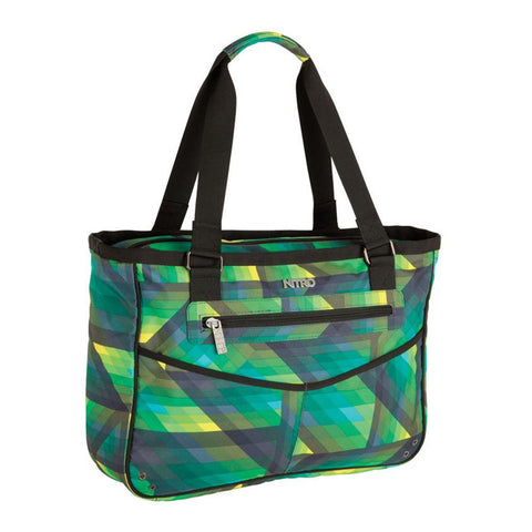 Carry-All Geo Green