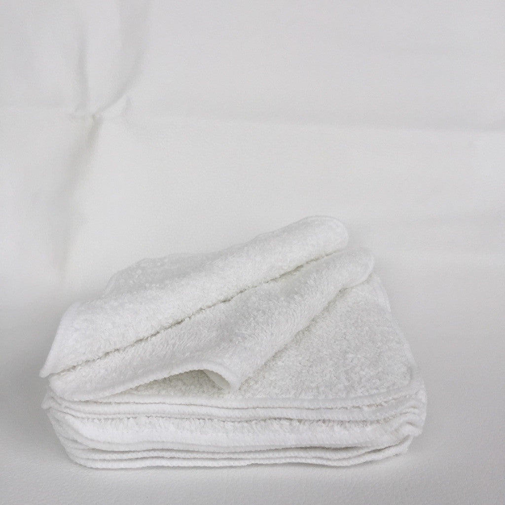 White Cloth Wipes