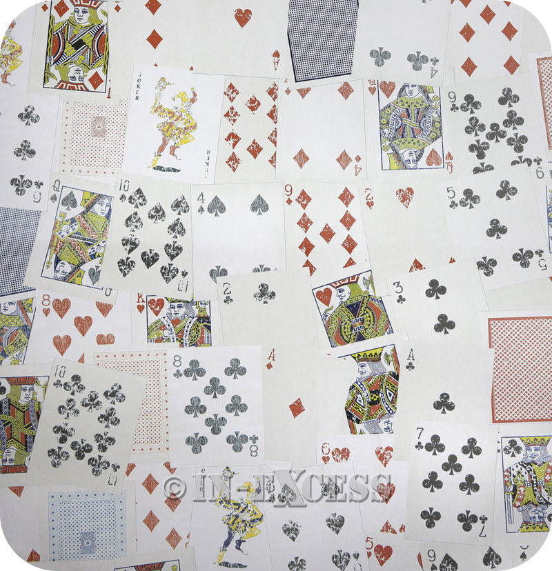 1 Wall Designer Photo Motif Wallpaper - Playing Cards W10MCARD01