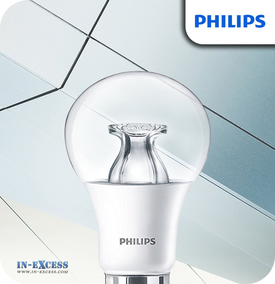 Philips Master LED Bulb 9W (60W) Dimmable B22 BC A60 Clear - Warm White