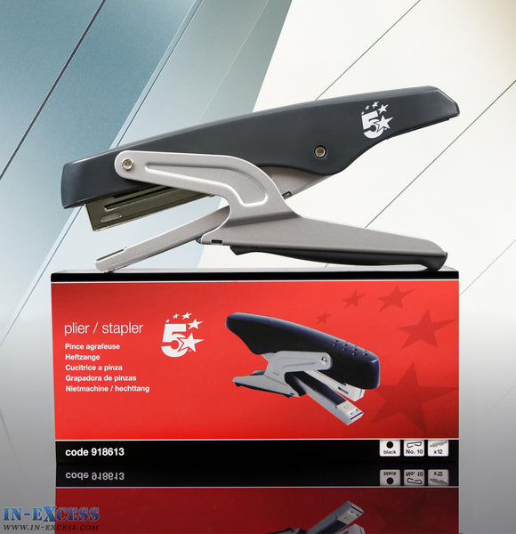 5 star Black Plier Stapler