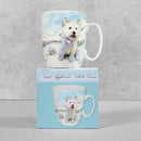 Lola Design Curved Mug - West Highland White Terrier by Otter House, sold by In-Excess