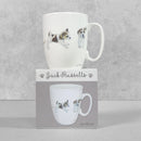 Little Paws Curved Mug - Jack Russells by Otter House, sold by In-Excess