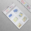 Card Making/Topper Pack - Flower Patterns by Crafty Bitz, sold by In-Excess