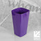 Studio 16cm Tall Square Indoor Planter Cover - Violet by Wham, sold by In-Excess