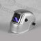 Auto Darkening Welding Helmet - Silver Smooth by Rollingdog, sold by In-Excess