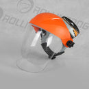 Face Shield - Orange by Rollingdog, sold by In-Excess