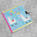 Girls Top Secret Diary with Lock & Key - Dancing Llamas by Design Group, sold by In-Excess