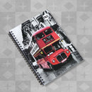 Craze Photographic A5 Wiro Notepad - London Bus by Nu:, sold by In-Excess
