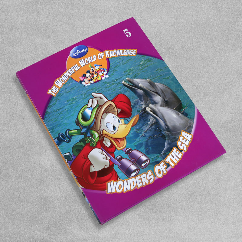 The Wonderful World Of Knowledge - Wonders Of The Sea by Disney, sold by In-Excess