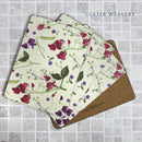 Royal Horticultural Society Sweet Pea Placemats - Set of 4 by Ulster Weavers, sold by In-Excess