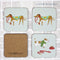 Walkies Coasters - Set of 4 by Ulster Weavers, sold by In-Excess