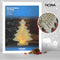 LED Natural Wooden Christmas Tree by Noma, sold by In-Excess
