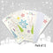 Pack of 12 Christmas Portrait Cards - Bright Tree & Star Design sold by In-Excess
