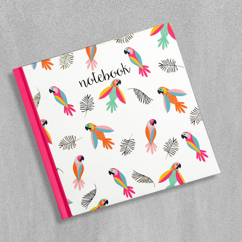 Tropical Parrots Notebook by SoulUk, sold by in-Excess