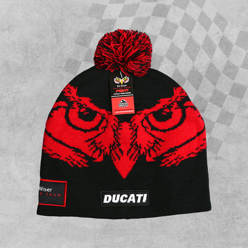 Be Wiser PBM Ducati Racing BSB Beanie Hat sold by in-Excess