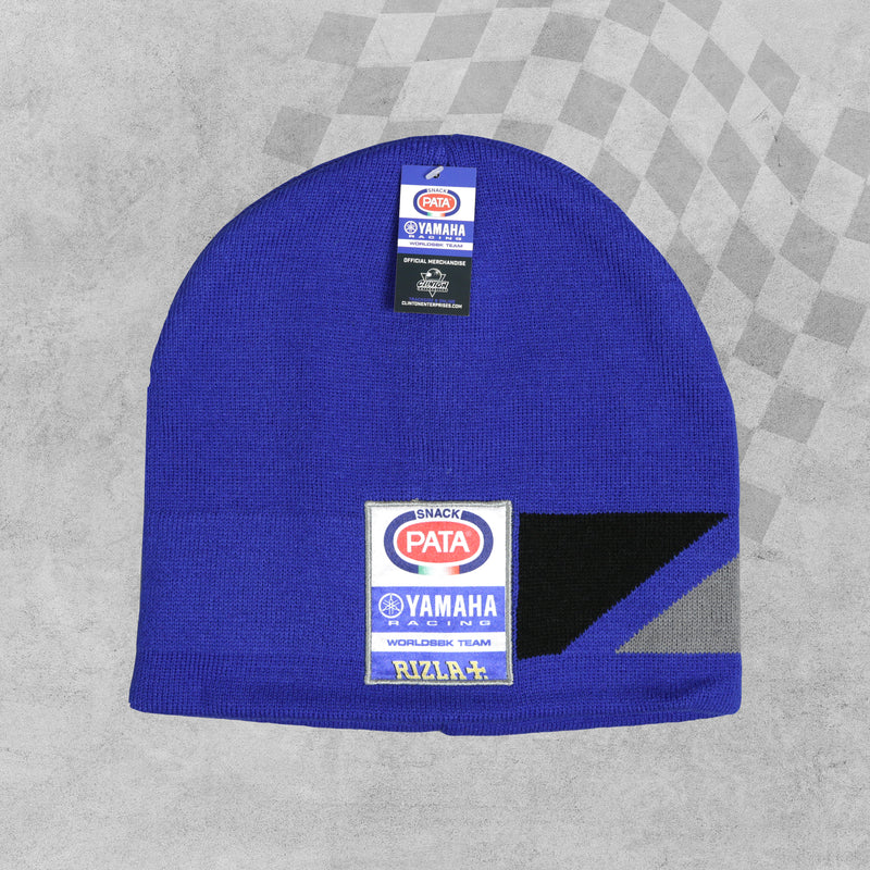 Pata Yamaha Rizla WorldSBK Beanie Hat sold by In-Excess
