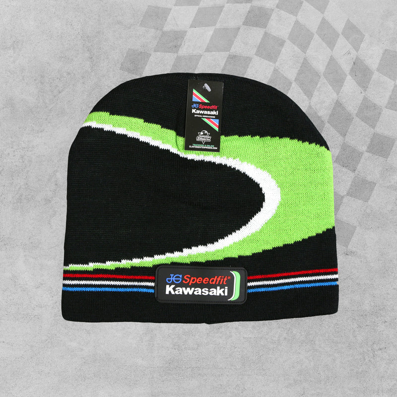 JG Speedfit Kawasaki Racing BSB Beanie Hat sold by In-Excess