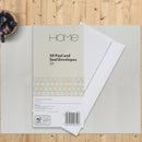 White Peel & Seal Envelopes D1 Size - Pack of 50 sold by In-Excess