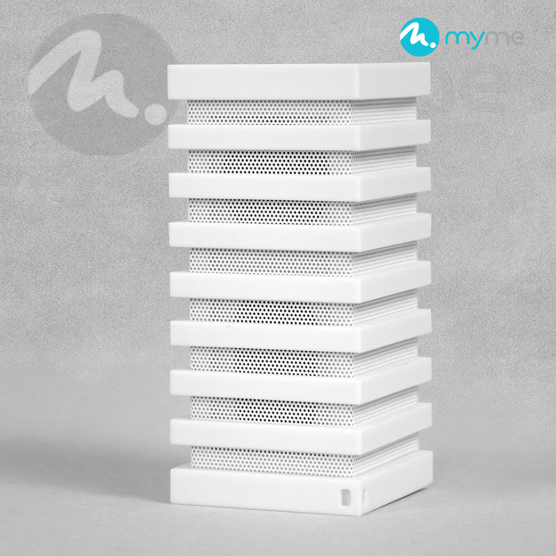 MYME -  Portable Wireless Bluetooth Speaker - White