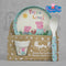 Peppa Pig Bamboo Organic Egg Cup Dinner Set