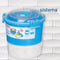 Sistema To Go Lunch Stack Round  Storage Container  - Blue 965 ml