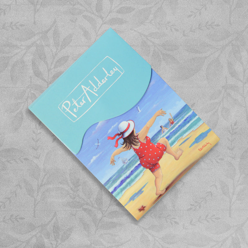 Summer Seaside Notelet Hand Bag Size Note Pad