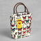 In Travel Thermal Insulated Lunch Cooler - Butterfly Print