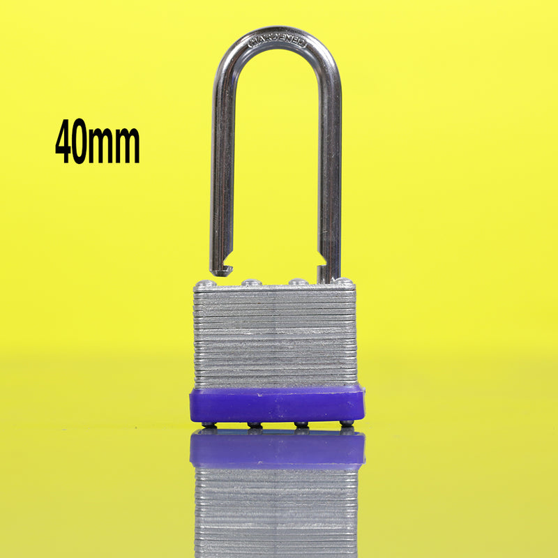In-Excess 40mm Long Shackle Laminated Padlock