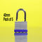 Pack of 5 In-Excess 40mm Laminated Padlocks