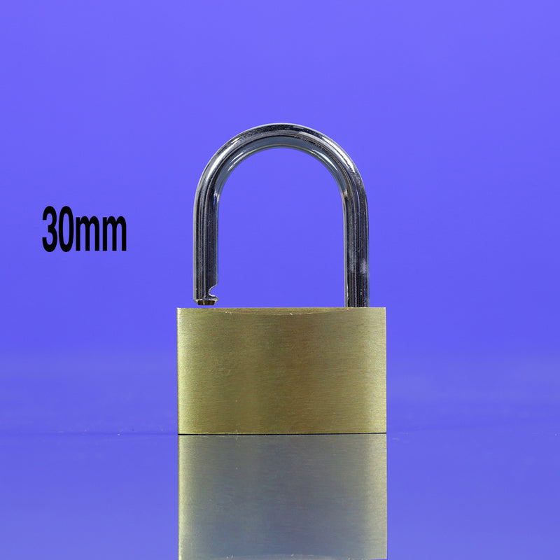 In-Excess Brass 30mm Padlock