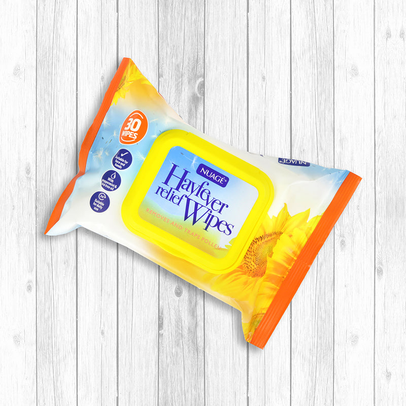 Nuage Hay Fever Relief Wipes