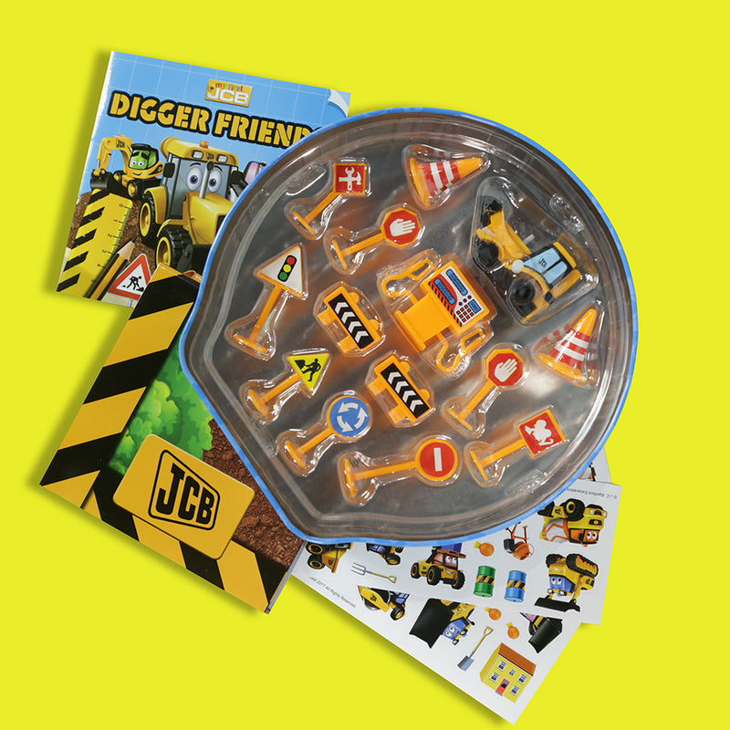 My First JCB Digger Friends Activity Tin