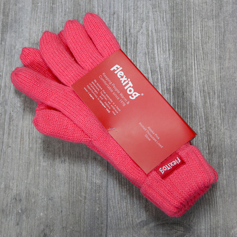 FlexiTog Alaska Pink Thinsulate Lined Gloves